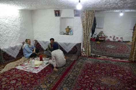 Habitat troglodyte de Kandovan - Iran -