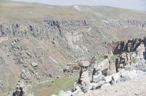 Canyon dans le massif du Sabalan - Iran -