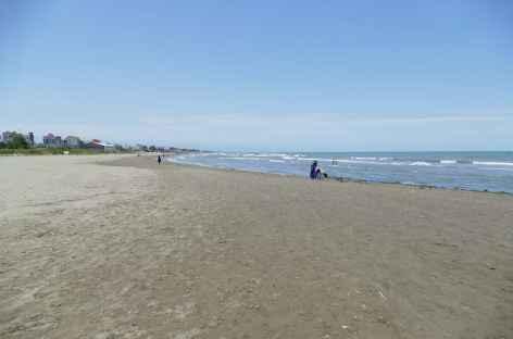 Plage à la mer Caspienne - Iran -
