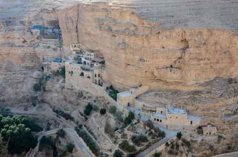 Monastère Saint Georges, dans le Wadi Qelt - Palestine -