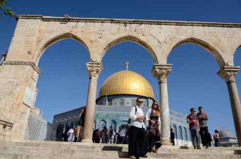 Dôme du Rocher à Jérusalem - Israël -