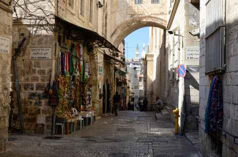 Via Dolorosa à Jérusalem - Israël -