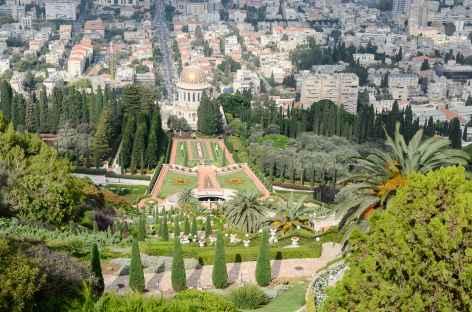 Jardins bahaïs à Haïfa - Israël -