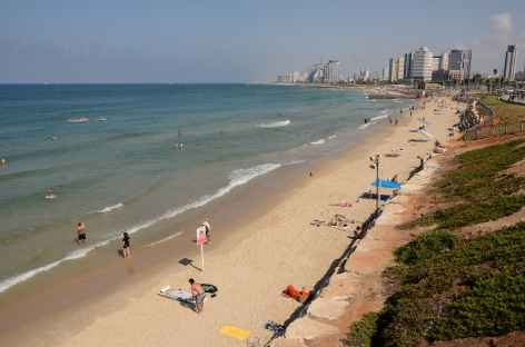Plage de Tel Aviv - Israël -