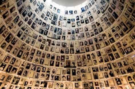 Salle des Noms, musée de Yad Vashem à Jérusalem - Israël -