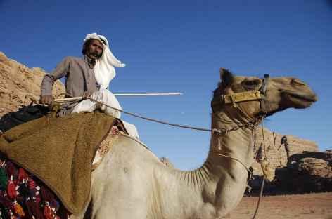 Notre chamelier dans le désert du Wadi Rum - Jordanie -