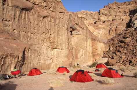 Campement dans le désert - Jordanie -