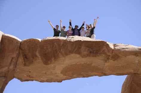Arche d'Umm Fruth, désert du Wadi Rum - Jordanie -
