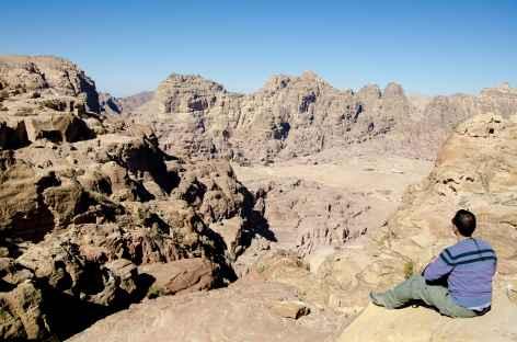 Sur les hauteurs de Pétra - Jordanie -
