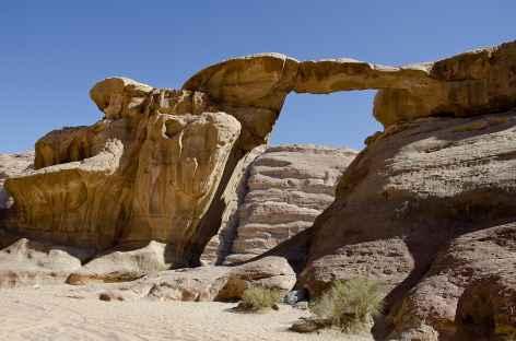 Arche rocheuse d'Umm fruth, Wadi Rum - Jordanie -
