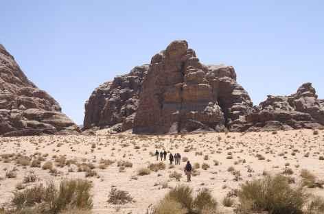 Sud du Wadi Rum, vers Jarich - Jordanie -