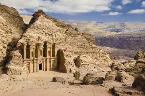 Le Deir à Pétra - Jordanie -
