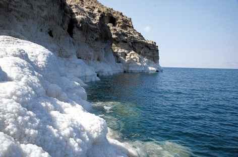 Mer Morte et les concrétions de sel - Jordanie -