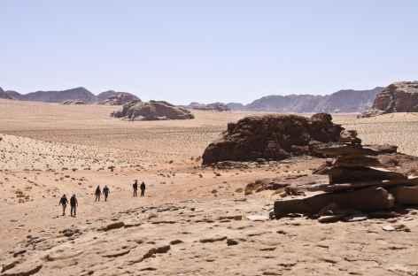 Trek dans le Wadi Rum - Jordanie -