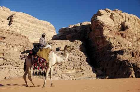 Bédouin dans le désert - Jordanie -