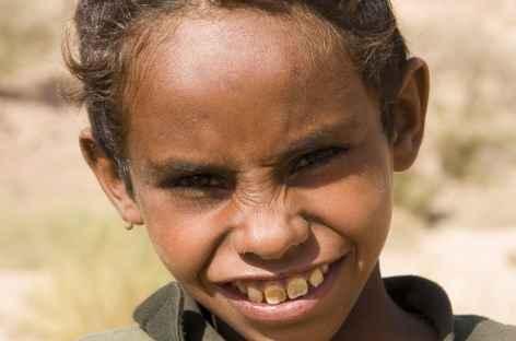 Jeune bédouin, Wadi Dana - Jordanie -