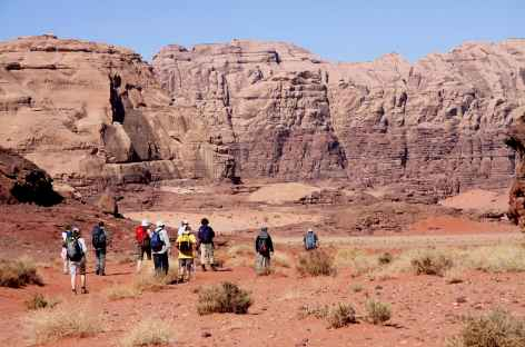 Trek dans le Désert du Wadi Rum - Jordanie -