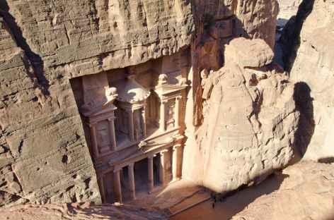 Pétra, le Trésor vu du haut - Jordanie -