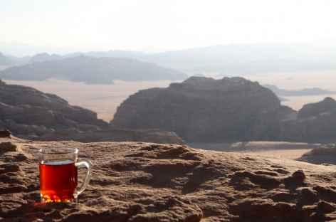 Tea time dans le Wadi Rum ! - Jordanie -