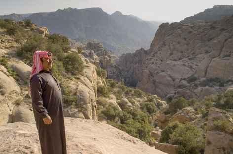 Vers le village de Dana - Jordanie -