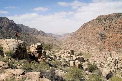 Marche dans le Wadi Dana - Jordanie -