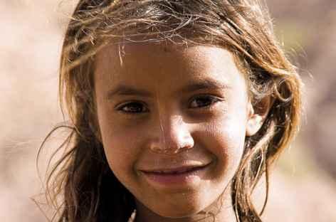 Jeune bédouine - Jordanie -