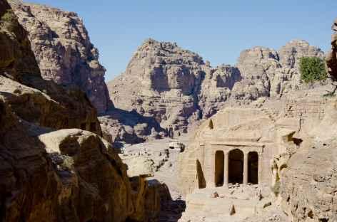 Pétra, montée vers le Haut-Lieu du Sacrifice - Jordanie -