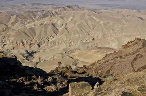 Vue sur le Wadi Araba - Jordanie -