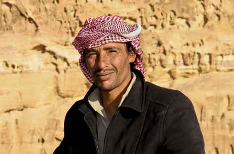 Notre guide local bédouin dans le Wadi Rum - Jordanie -