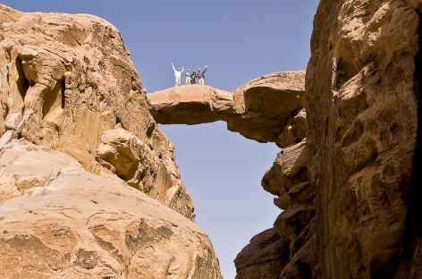 Wadi Rum, arche rocheuse de Burdah - Jordanie -