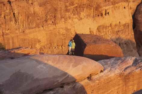 Couleurs au coucher du soleil dans le désert - Jordanie -