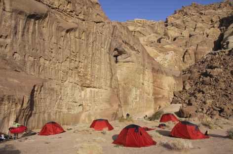 Notre campement dans le désert - Jordanie -
