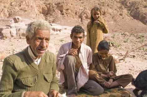 Famille bédouine - Jordanie -