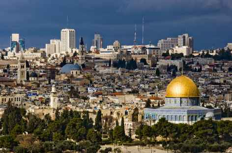 Jérusalem depuis le Mont des Oliviers - Israël -