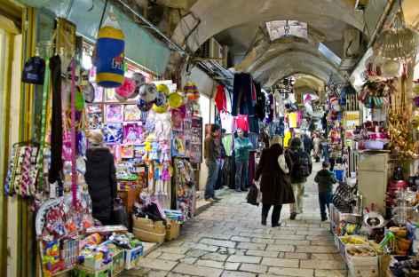 Quartier mulsuman du vieux Jérusalem - Israël -