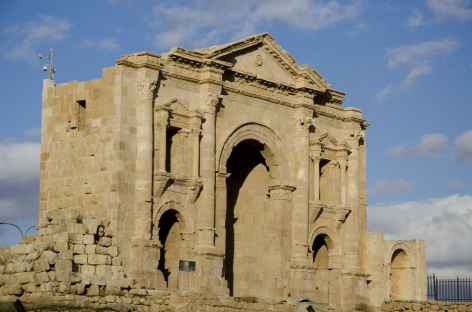 Porte d'Hadrien, Jérash - Jordanie -