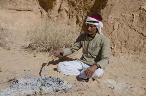 Désert du Wadi Rum, notre guide local bédouin - Jordanie -