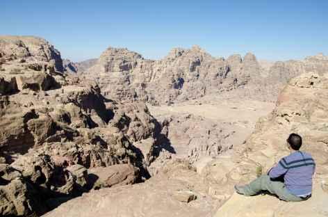 Pétra sur les hauteurs - Jordanie -