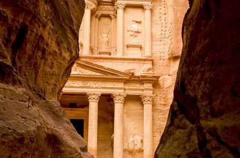 Pétra, le Trésor depuis le Siq - Jordanie -