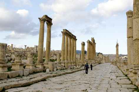 Cité gréco-romaine de Jérash - Jordanie -