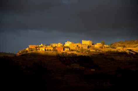 Sur la route entre Salt et Amman - Jordanie -
