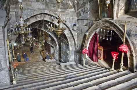 Eglise Saint Sépulcre à Jérusalem - Israël -
