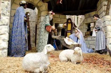 Crêche, basilique de la Nativité, Bethléem - Palestine -