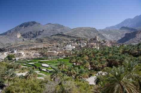 Village de Balad Sit, massif du Wadi Bani Awf - Oman -