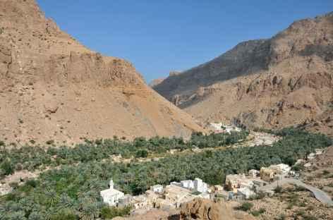 Remontée du Wadi Shab - Oman -