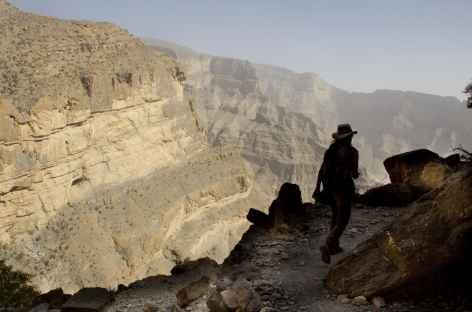 Randonnée en balcon dans le Grand Canyon d'Arabie - Oman -