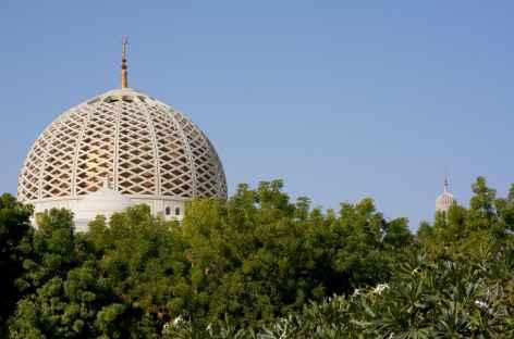 Grande Mosquée du Sultan Qaboos à Mascate - Oman -
