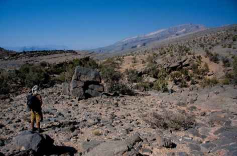 Trek entre Sharaf Al Alamain et Misfat - Oman -