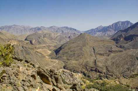 Vers le col de Sharaf Al Alamain - Oman -