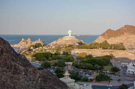 Marche sur les hauteurs de Mascate - Oman -